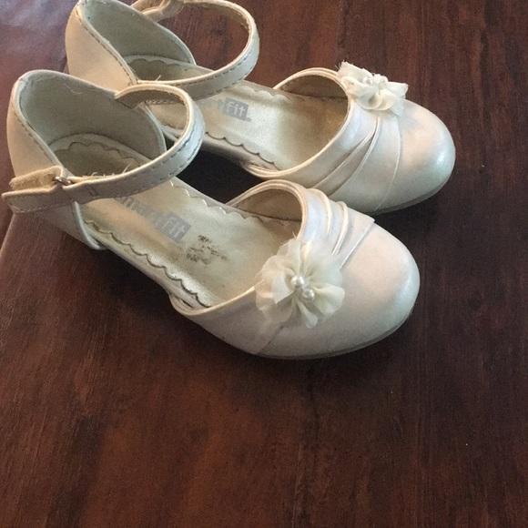 Shoes   Cream Toddler Girl Heeled Dress
